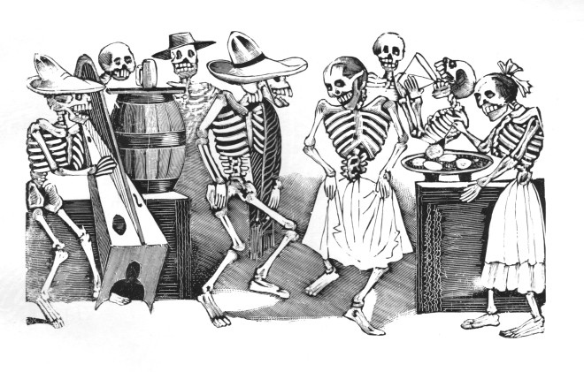 Skeleton Party