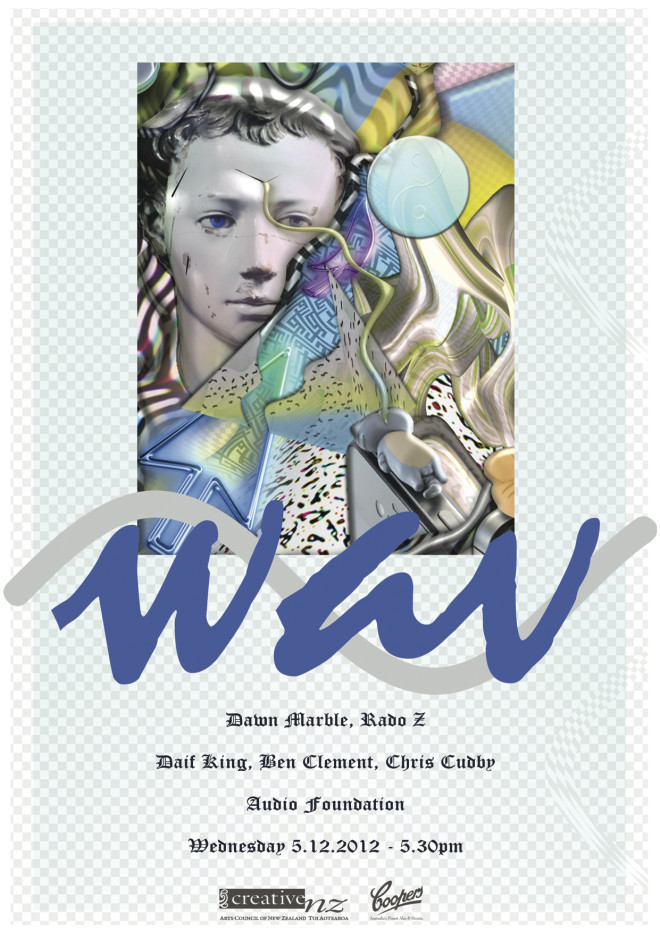 WAV exhibition flyer