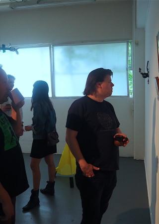 Exhibition Etc., opening 12