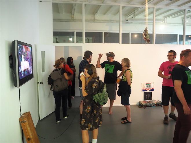 Exhibition Etc., opening 13