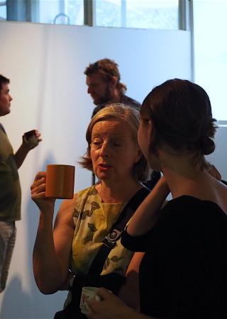 Exhibition Etc., opening 16