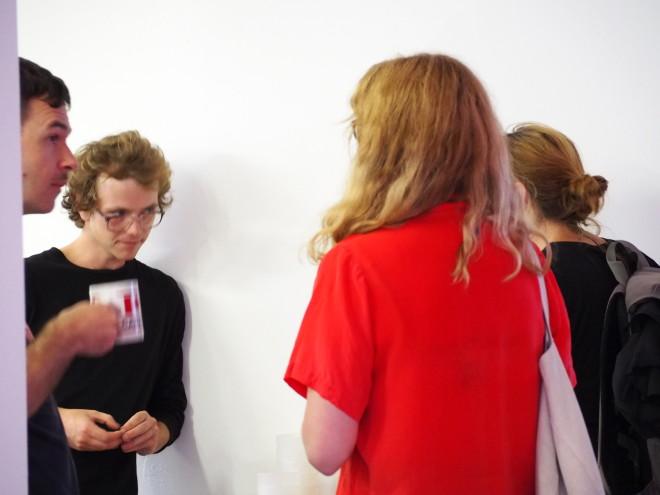 Exhibition Etc., opening 18