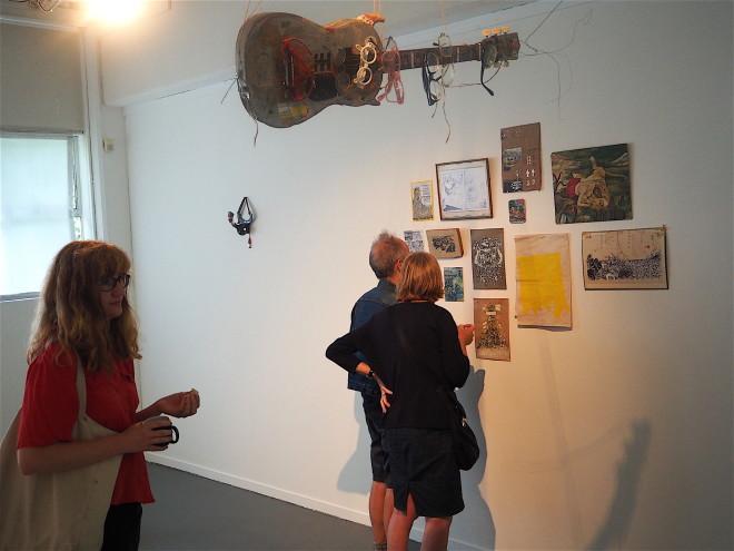 Exhibition Etc., opening 20