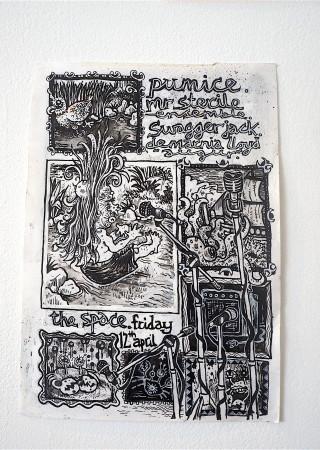 Pumice on Paper 07