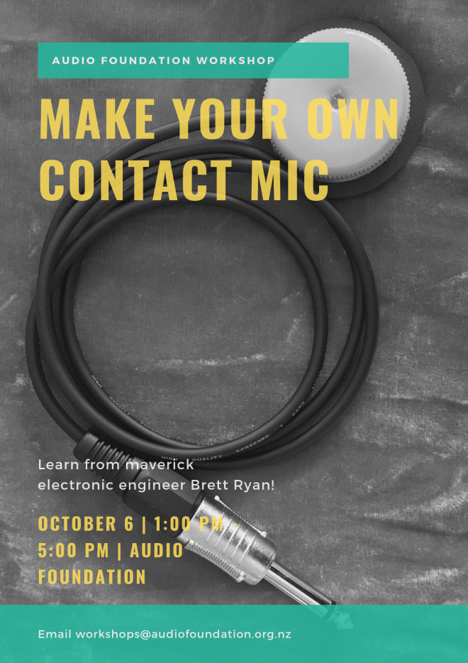 Make your own contact mic