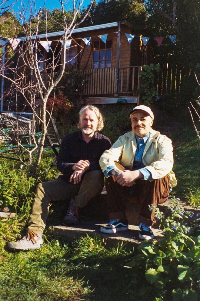 Riki Gooch and Alistair Fraser