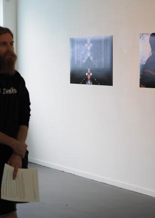 Whakapapa Algorithms Exhibition Opening 3
