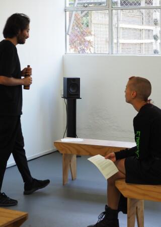 Jimmy Solórzano exhibition opening 11
